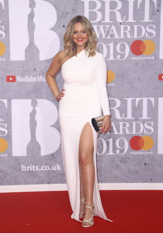 Emily Atack – 2019 Brit Awards