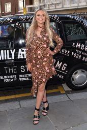 Emily Atack - Style Collection Launch at EL & N London 02/27/2019