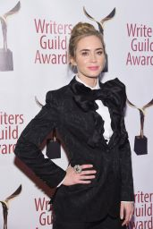 Emily Blunt – 2019 Writers Guild Awards in NYC