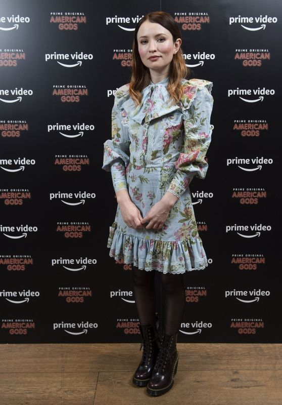"Emily Browning - ""American Gods"" Season Two Screening in London"