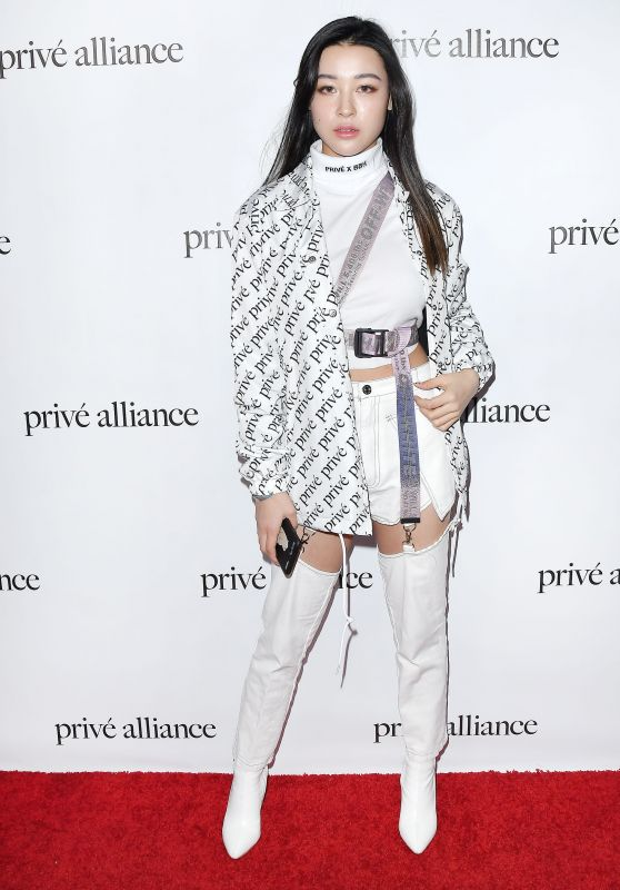 Emily Mei – Prive Alliance LA's Fashion Presentation in LA 02/26/2019
