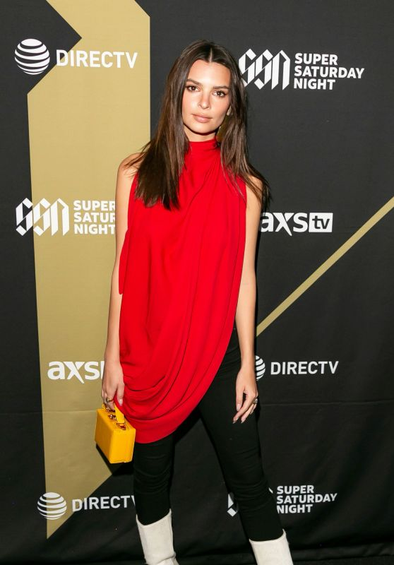 Emily Ratajkowski - DIRECTV Super Saturday Night 2019