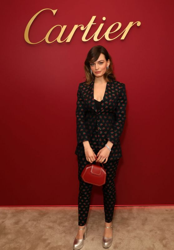 Emma Mackey - Cartier Celebrates the Reopening of the New Bond Street Boutique in London 01/31/2019