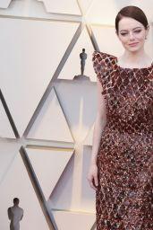 Emma Stone – Oscars 2019 Red Carpet
