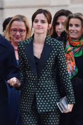 Emma Watson - Arrives at the First Meeting of the G7 Gender Equality Advisory Council in Paris 02/19/2019