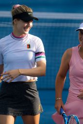 Eugenie Bouchard and Sofia Kenin – 2019 Dubai Tennis Championship 02/18/2019