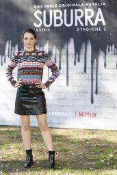"Federica Sabatini – ""Suburra"" TV Series Season 2 Photocall in Rome"