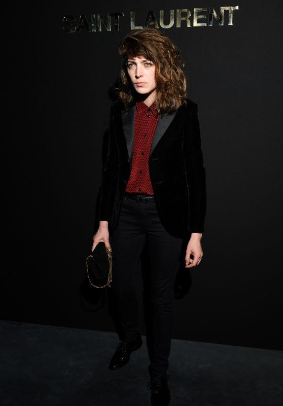 Flora Fischbach – Saint Laurent Fashion Show in Paris 02/26/2019