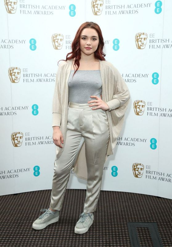 Florence Pugh - EE Rising Star Nominations Announcement at BAFTA in London, January 2019