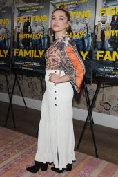 "Florence Pugh - ""Fighting With My Family"" Special Screening in NY"
