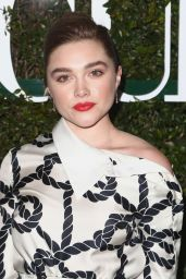 Florence Pugh – Teen Vogue's 2019 Young Hollywood Party