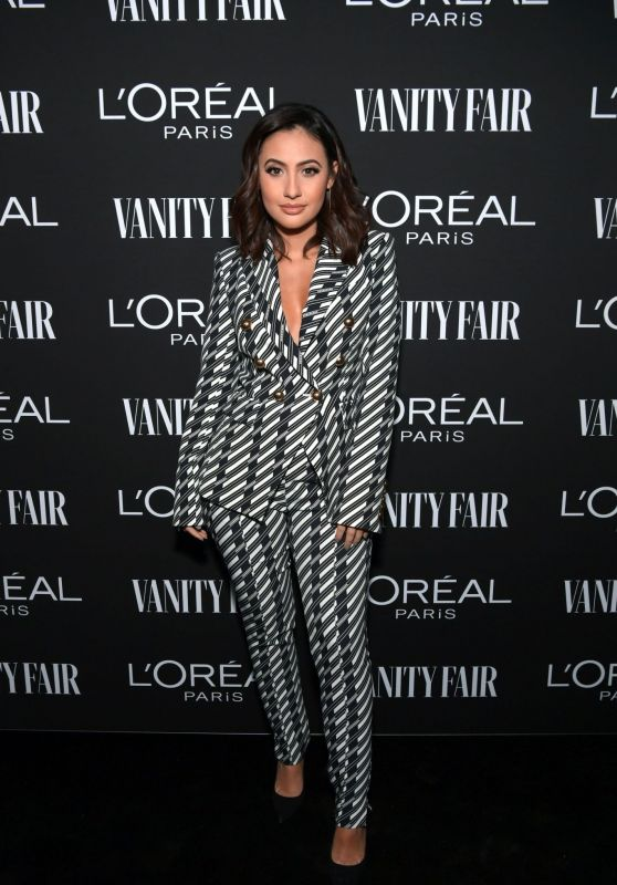 Francia Raisa – Vanity Fair & LOréal Paris Celebrate New Hollywood 02/19/2019