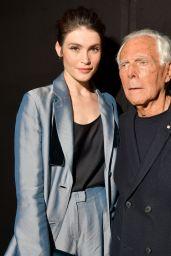 Gemma Arterton - Giorgio Armani Show in Milan 02/23/2019