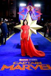 "Gemma Chan – ""Captain Marvel"" Premiere in London"