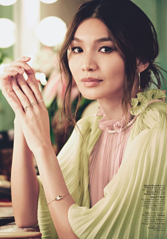 Gemma Chan - Instyle Magazine US March 2019 Issue