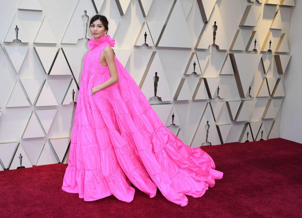 Gemma Chan Oscars 2019 Red Carpet