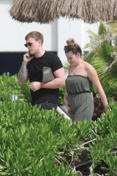 Georgia Kousoulou Candids - Vacation in Mexico 02/05/2019