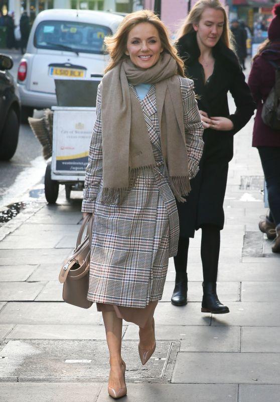 Geri Halliwell Chic Style - Charlotte Street Hotel in London 01/31/2019