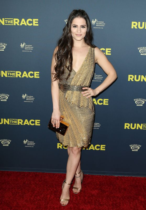 "Gianna Simone – ""Run The Race"" Premiere in Los Angeles"