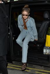 Gigi Hadid - Out in London 02/17/2019