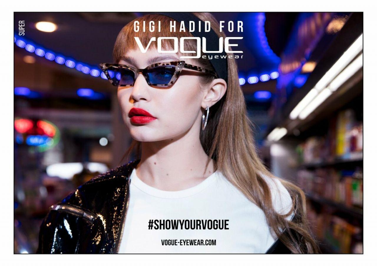 d423339e08f Gigi Hadid - Vogue Eyewear Season III Campaign 2019