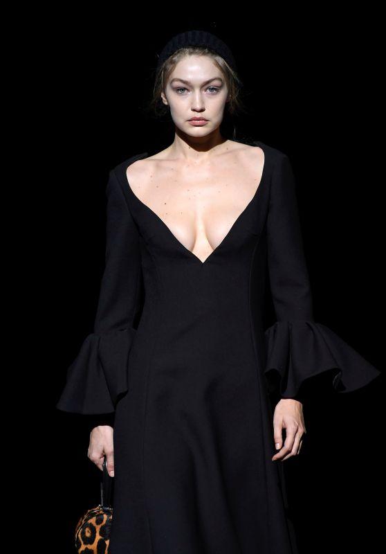 Gigi Hadid - Walks the Marc Jacobs Fashion Show in New York City 02/13/2019
