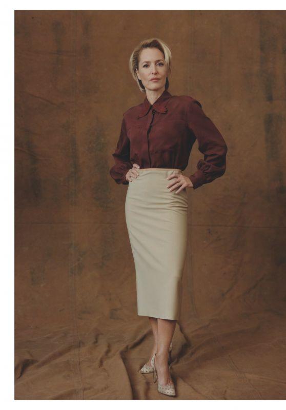 Gillian Anderson - Vogue UK March 2019