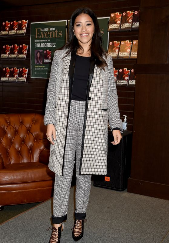 "Gina Rodriguez - ""Who in the World is Carmen Sandiego"" Book Signing at The Grove 02/02/2019"