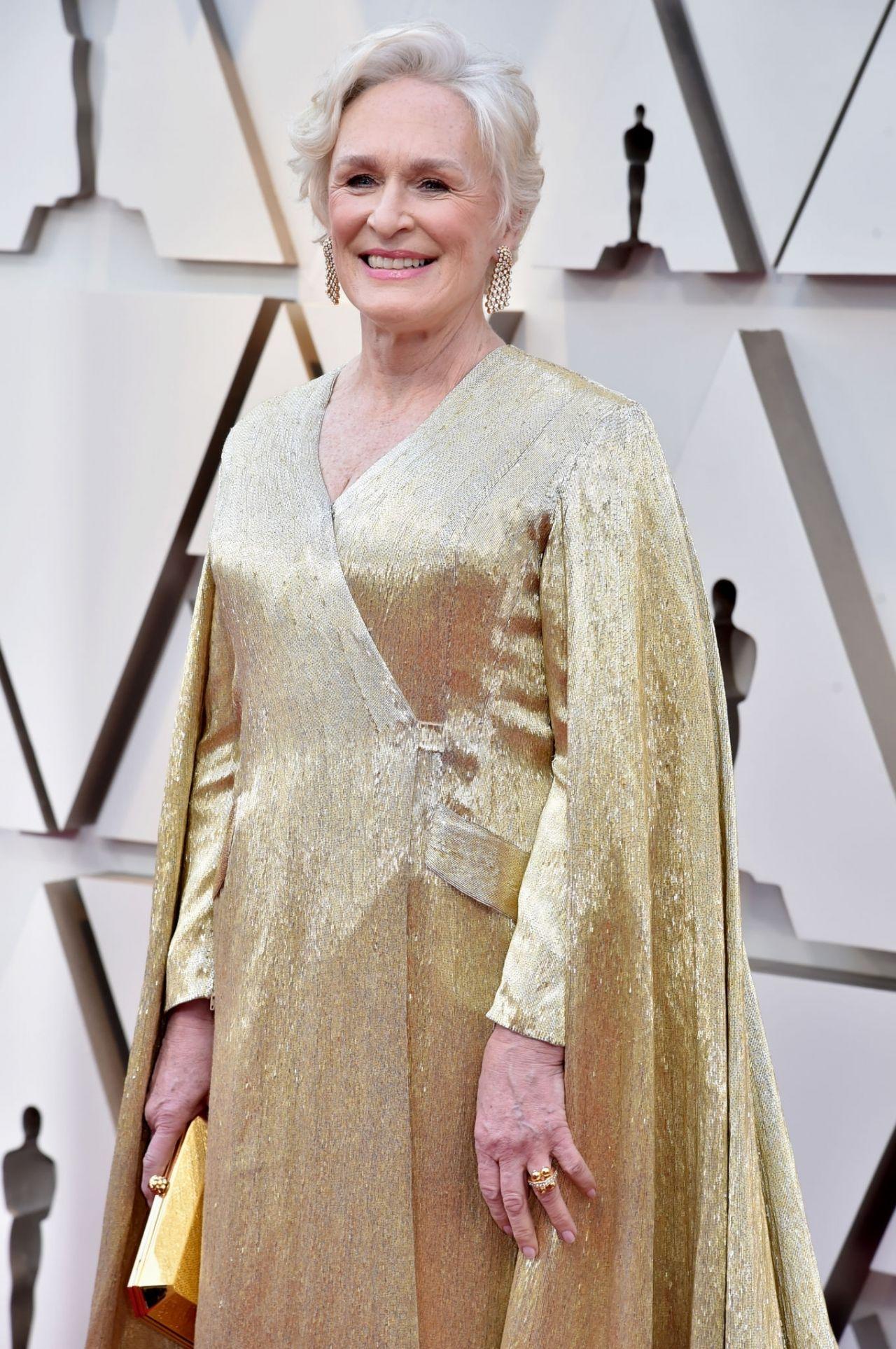 Glenn Close Oscars 2019 Red Carpet