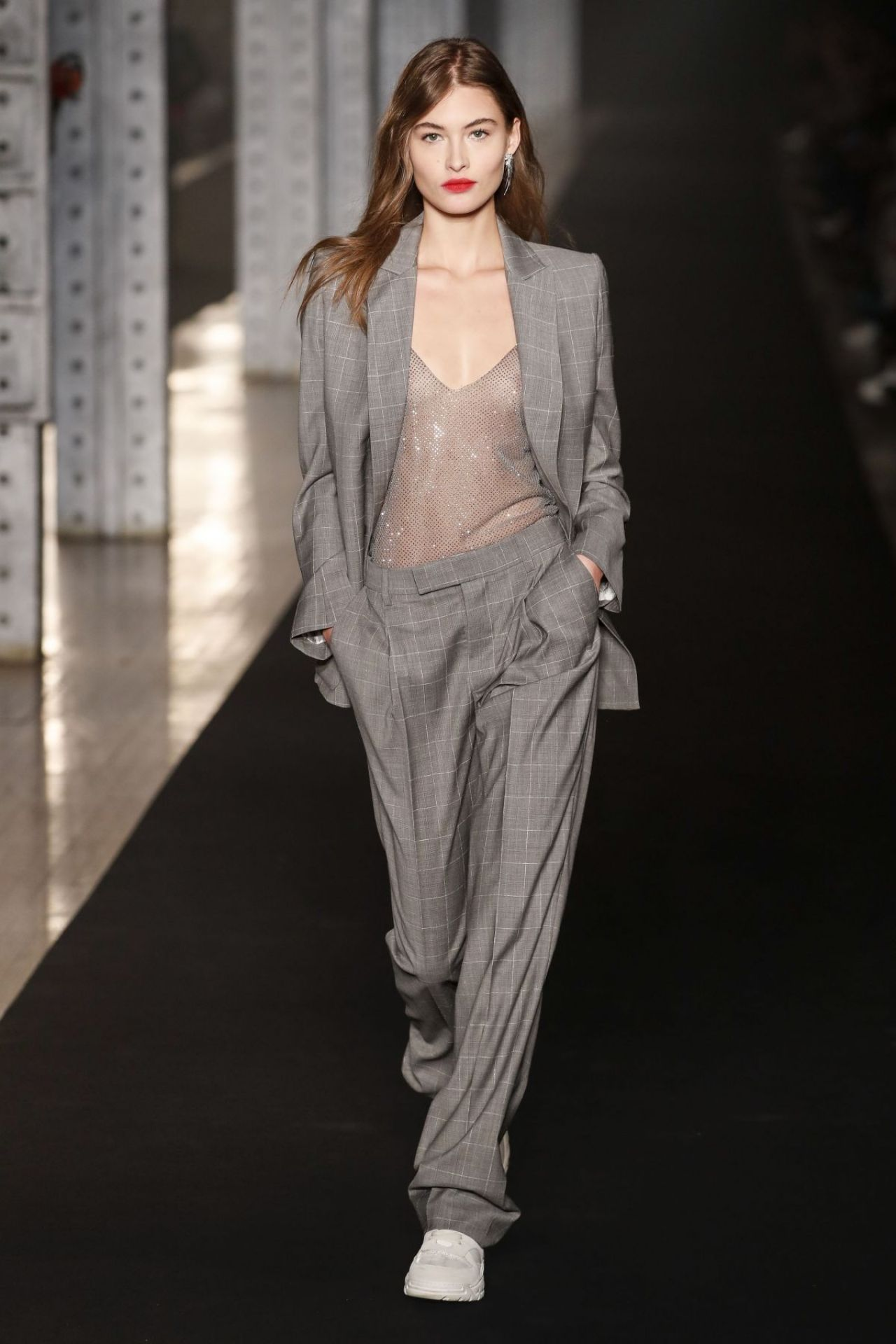 859d001be4a1 Grace Elizabeth Walks Zadig   Voltaire Fashion Show in NYC 02 11 2019
