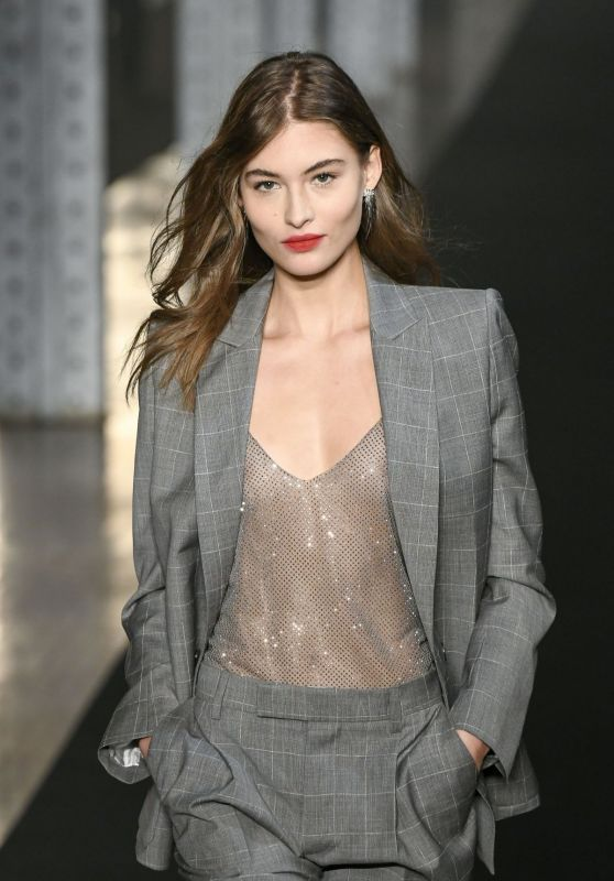 Grace Elizabeth Walks Zadig & Voltaire Fashion Show in NYC 02/11/2019