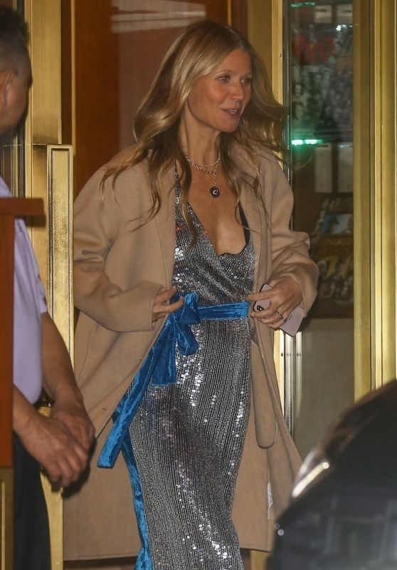 Gwyneth Paltrow - Exits the Sunset Tower Hotel in Hollywood 02/10/2019