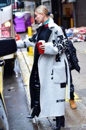 Hailey Baldwin - Leaving Chruch in NYC 02/24/2019