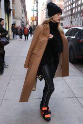 Hailey Rhode Bieber Street Fashion - NYC 02/10/2019