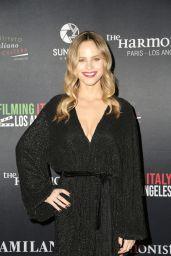 Halston Sage - Filming in Italy Festival in LA 01/30/2019