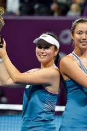 Hao-Ching Chan and Latisha Chan - Doubles Final at the 2019 WTA Qatar Open in Doha 02/16/2019