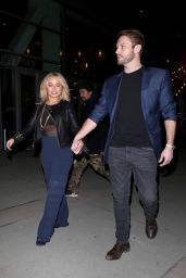 Hayden Panettiere and Brian Hickerson Night Out - ArcLight Theatre in Hollywood 01/31/2019