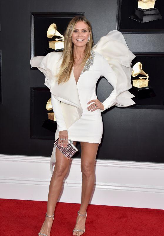Heidi Klum – 2019 Grammy Awards