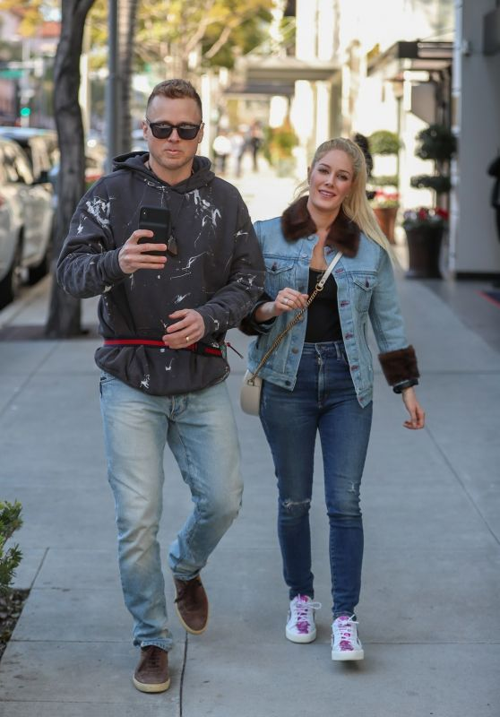 Heidi Montag and Spencer Pratt at Sugarfish in West Hollywood 02/08/2019