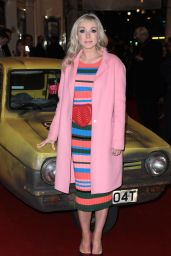 """Helen George - """"Only Fools and Horses"""" Musical Press Night in London 02/19/2019"""