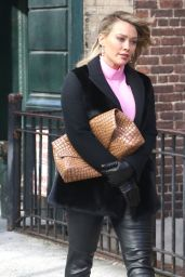 """Hilary Duff - Filming """"Younger"""" in Brooklyn 02/26/2019"""