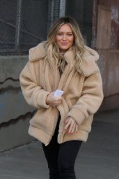 "Hilary Duff - ""Younger"" Set in NYC 02/25/2019"