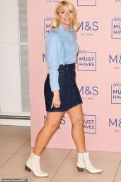 Holly Willoughby - M & S Launch in London 02/24/2019