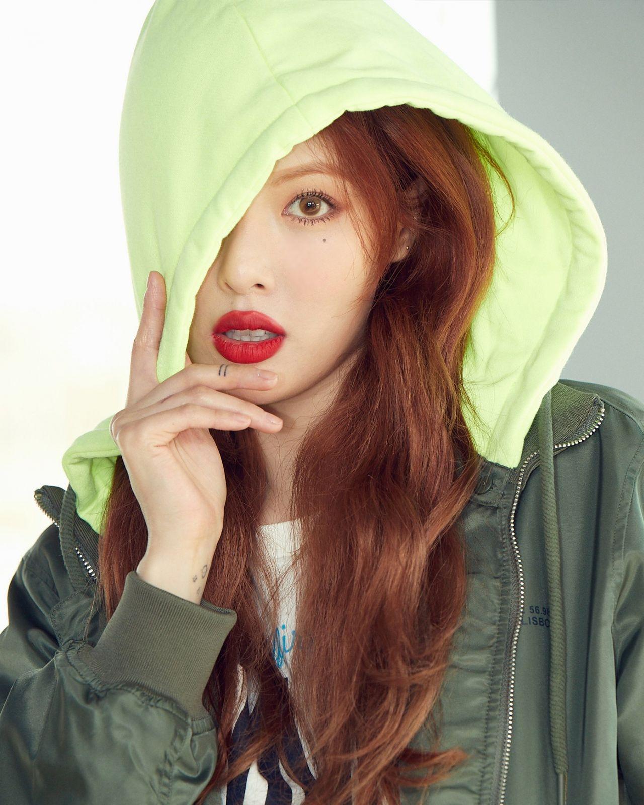 HyunA - Photoshoot for CLRIDE.n (2019)Hyuna 2019 Pics