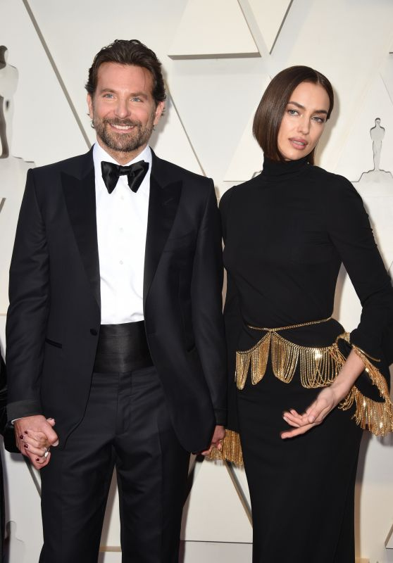 Irina Shayk and Bradley Cooper – Oscars 2019 Red Carpet