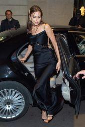 Irina Shayk Night Out Style – Milan 02/22/2019