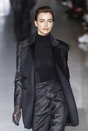 Irina Shayk Walks Max Mara Show at Milan Fashion Week 02/21/2019