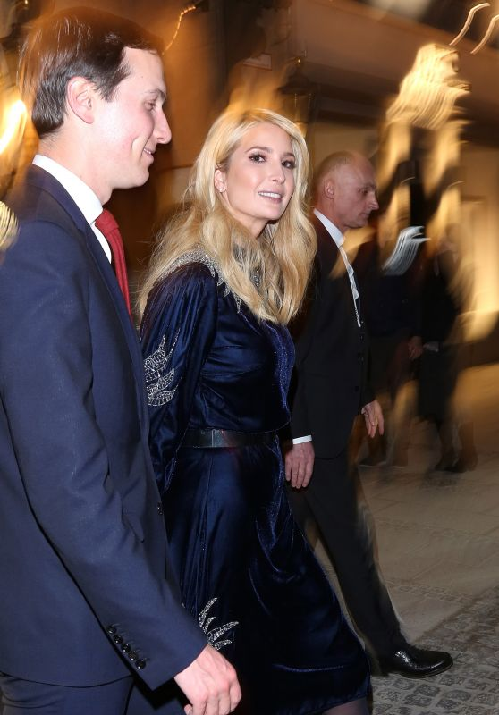 Ivanka Trump - Leaves After Wienerschnitzel the Bavarian Restaurant Spatenhaus in Munich 02/15/2019
