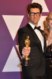 Jaime Ray Newman and Guy Nattiv - Oscar 2019 Winners