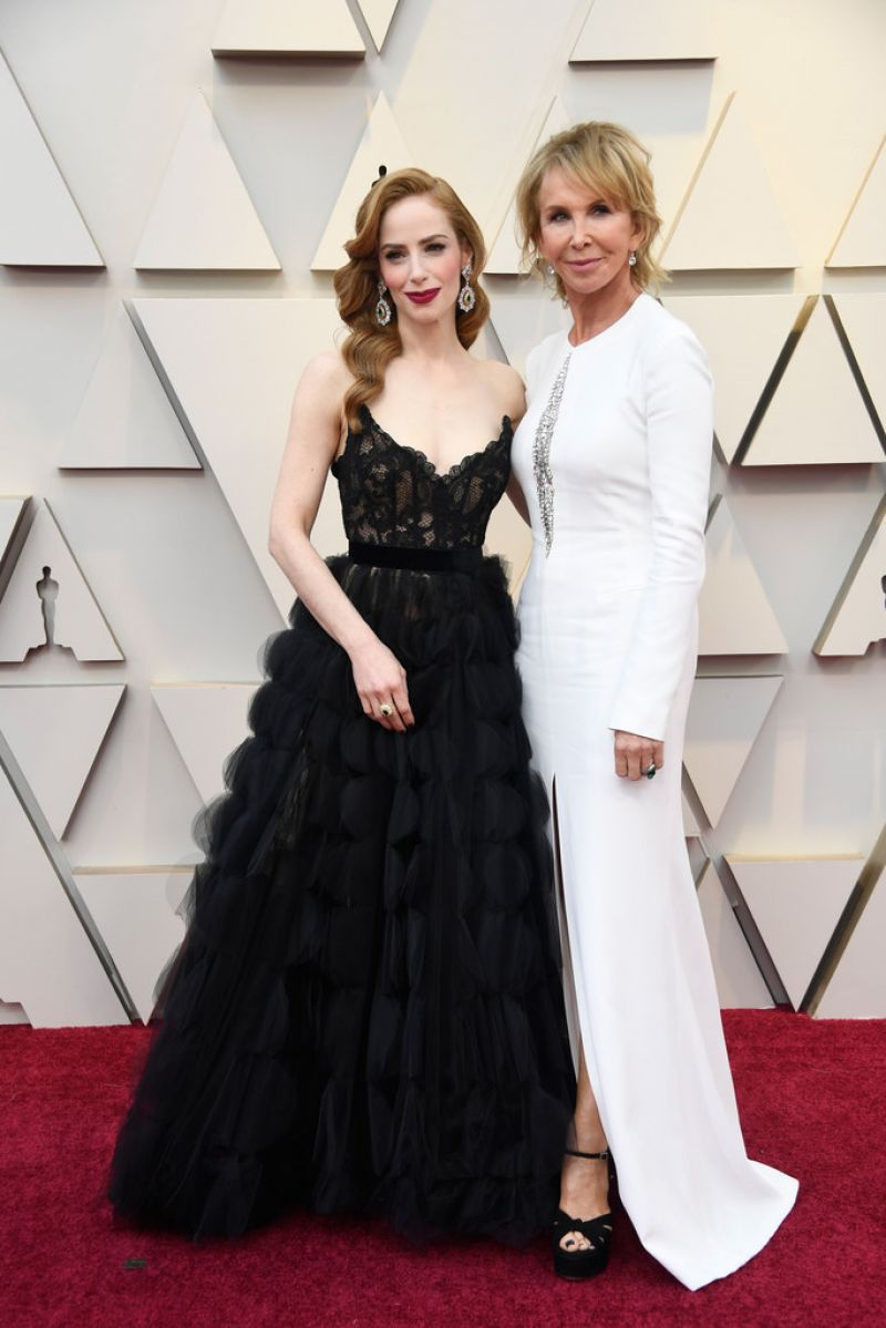 Jaime Ray Newman Oscars 2019 Red Carpet